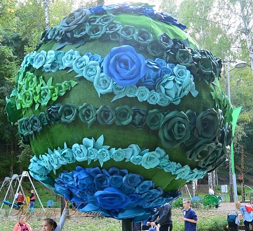 """По сложившейся традиции всех,кто хотел попасть на ежегодную выставку """"Город-сад"""",но не смог в силу ряда обстоятельств,я приглашаю на виртуальную экскурсию. фото 4"""
