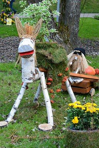 """По сложившейся традиции всех,кто хотел попасть на ежегодную выставку """"Город-сад"""",но не смог в силу ряда обстоятельств,я приглашаю на виртуальную экскурсию. фото 119"""
