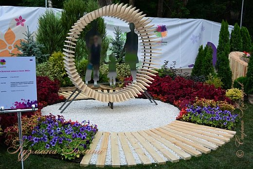 """По сложившейся традиции всех,кто хотел попасть на ежегодную выставку """"Город-сад"""",но не смог в силу ряда обстоятельств,я приглашаю на виртуальную экскурсию. фото 98"""