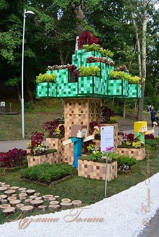 """По сложившейся традиции всех,кто хотел попасть на ежегодную выставку """"Город-сад"""",но не смог в силу ряда обстоятельств,я приглашаю на виртуальную экскурсию. фото 110"""
