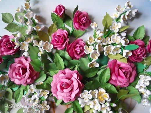 Жасмин и розы. фото 5