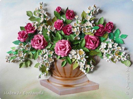Жасмин и розы. фото 6