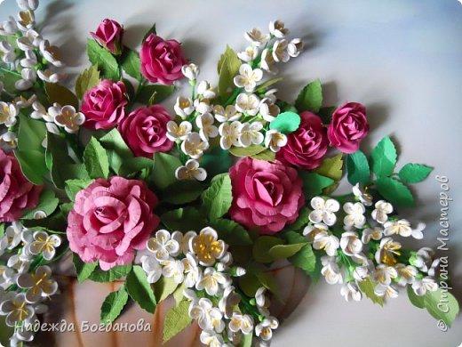 Жасмин и розы. фото 3