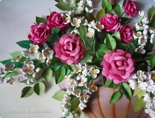 Жасмин и розы. фото 4