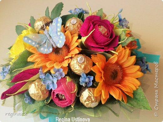 Декоративные и сладкие букеты  фото 1