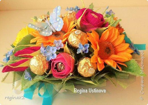 Декоративные и сладкие букеты  фото 2