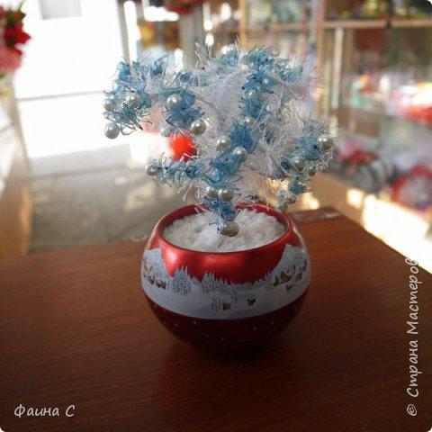 Деревья из пластиковых бутылок фото 7