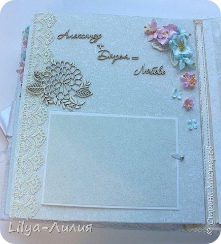 Набор на свадьбу. Альбом , коробочка и папка для свидетельства на свадьбу. фото 12