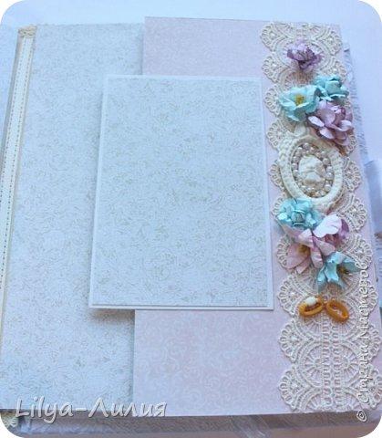 Набор на свадьбу. Альбом , коробочка и папка для свидетельства на свадьбу. фото 19