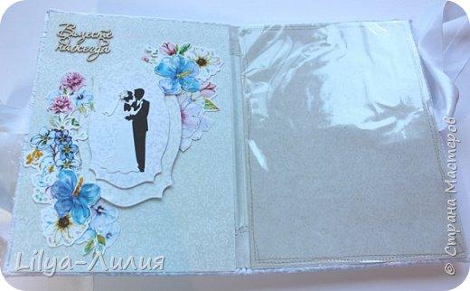 Набор на свадьбу. Альбом , коробочка и папка для свидетельства на свадьбу. фото 24