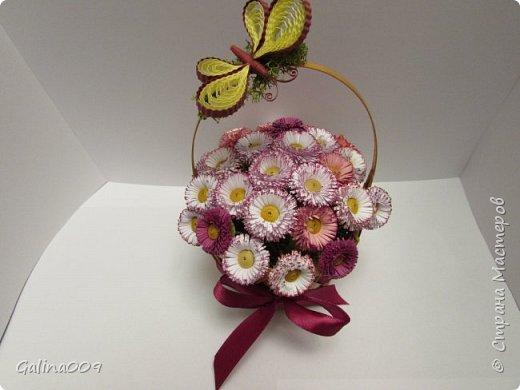 Цветы в корзиночках фото 2