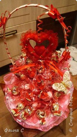 Букеты из конфет фото 3