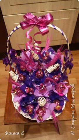 Букеты из конфет фото 6