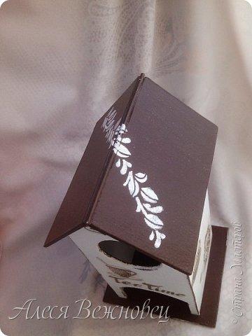 Домики для пакетиков чая.Кухонная тематика. Мои первые работы) фото 4