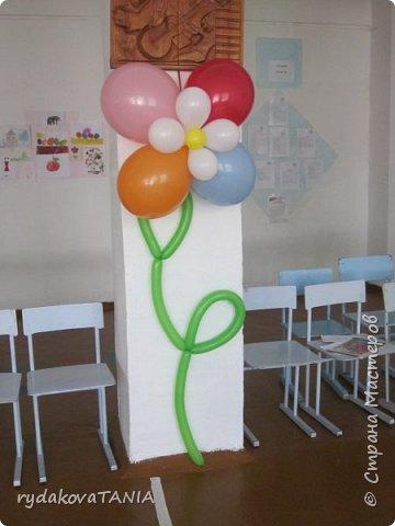Украшение детского сада на выпускной фото 3