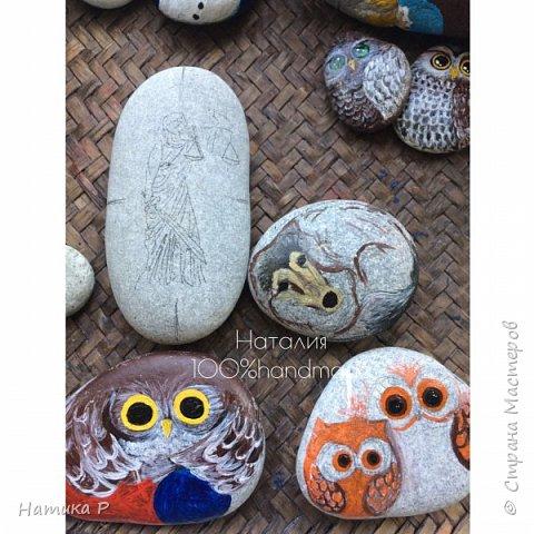 Мои камешки.Роспись камней. фото 4