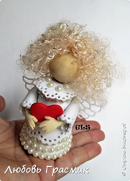 Я очень люблю делать и дарить Ангелочков. И не только на Рождество и день рождения. фото 2