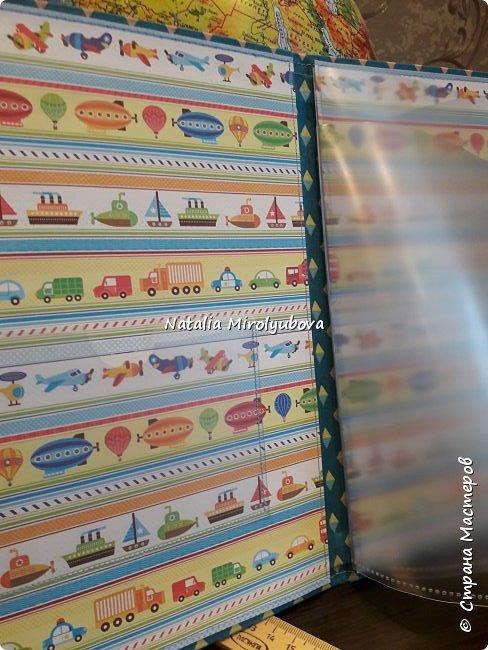 И еще 2 папочки для детских документов) фото 2