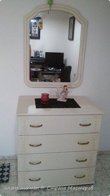 Доброе утро всем всем !Хочу показать вам результат моей работы с меловой краской.Это изобретение Энни Слоун и идеально подходит для перекраски  мебели в стилях прованс,шебби, кантри.Краска имеет шелковистую матовую поверхность и ложится без грунта.Ну да я здесь не для рекламы,а похвастаться...Проходите,смотрите. фото 6