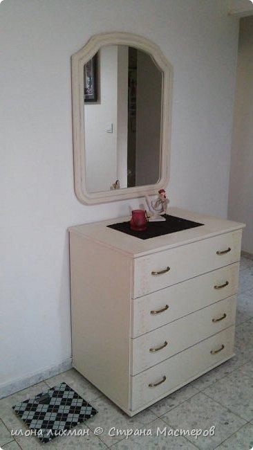 Доброе утро всем всем !Хочу показать вам результат моей работы с меловой краской.Это изобретение Энни Слоун и идеально подходит для перекраски  мебели в стилях прованс,шебби, кантри.Краска имеет шелковистую матовую поверхность и ложится без грунта.Ну да я здесь не для рекламы,а похвастаться...Проходите,смотрите. фото 1