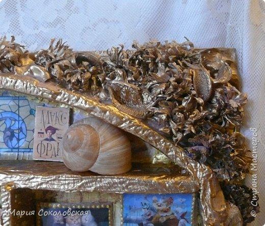 """Здравствуйте дорогие жители страны мастеров! Наконец-то выкладываю новый шедоубокс (ключницу) """"Славный день"""". Раньше не могла выложить, т.к. это подарок на День Рождения прекрасному человеку, моей хорошей знакомой Тане Славной (http://stranamasterov.ru/user/171745).  фото 2"""