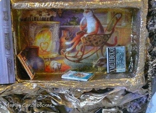 """Здравствуйте дорогие жители страны мастеров! Наконец-то выкладываю новый шедоубокс (ключницу) """"Славный день"""". Раньше не могла выложить, т.к. это подарок на День Рождения прекрасному человеку, моей хорошей знакомой Тане Славной (http://stranamasterov.ru/user/171745).  фото 7"""