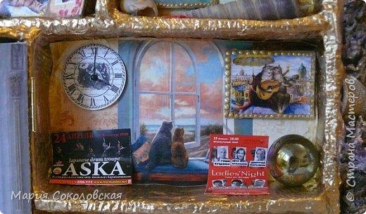 """Здравствуйте дорогие жители страны мастеров! Наконец-то выкладываю новый шедоубокс (ключницу) """"Славный день"""". Раньше не могла выложить, т.к. это подарок на День Рождения прекрасному человеку, моей хорошей знакомой Тане Славной (http://stranamasterov.ru/user/171745).  фото 9"""