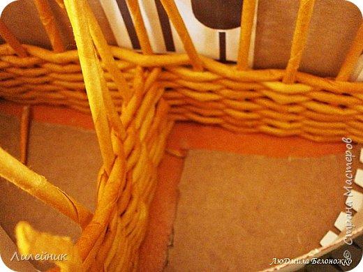 Здравстуй, Страна! Делала на заказ корзину высота 25см, длина39см.Морилка сосна. Корзина на три отделение с крышкой и креплением для кухонных принадлежностей .Фото которое дала закажчица https://nl.pinterest.com/pin/363665738651307276/   Как я справилась с этой задачей решать Вам Одна сторона. фото 17