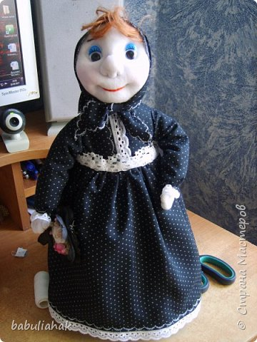 Бабуся -кукла  грелка для чайника. фото 1