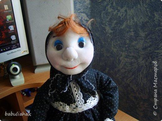 Бабуся -кукла  грелка для чайника. фото 2