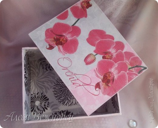 Шкатулка из переплетного картона фото 4