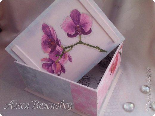 Шкатулка из переплетного картона фото 3