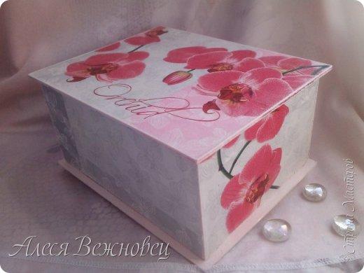 Шкатулка из переплетного картона фото 2
