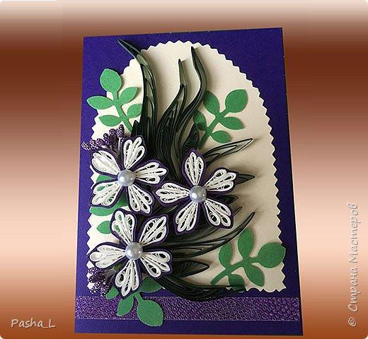 Цветы на фиолетовом