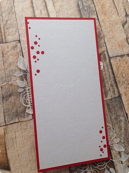 Красное и белое. Кардмейкинг. фото 7