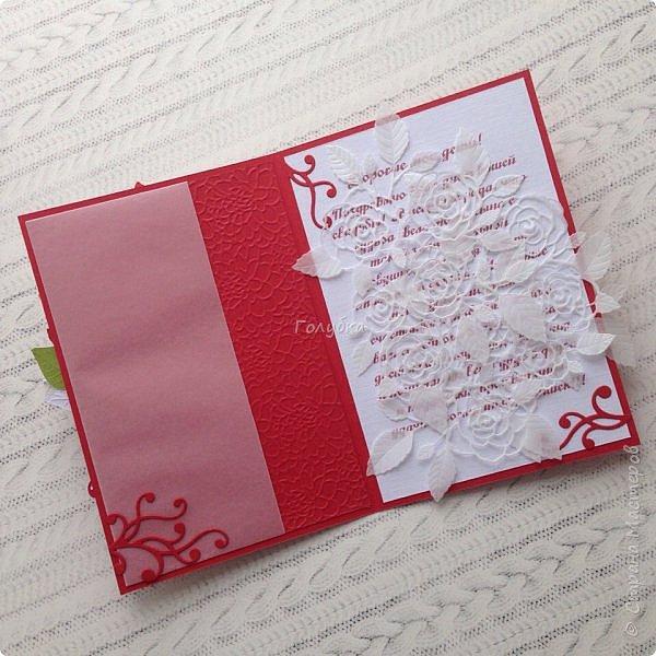 Красное и белое. Кардмейкинг. фото 3