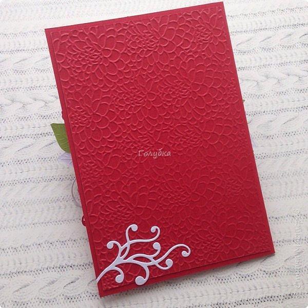 Красное и белое. Кардмейкинг. фото 4