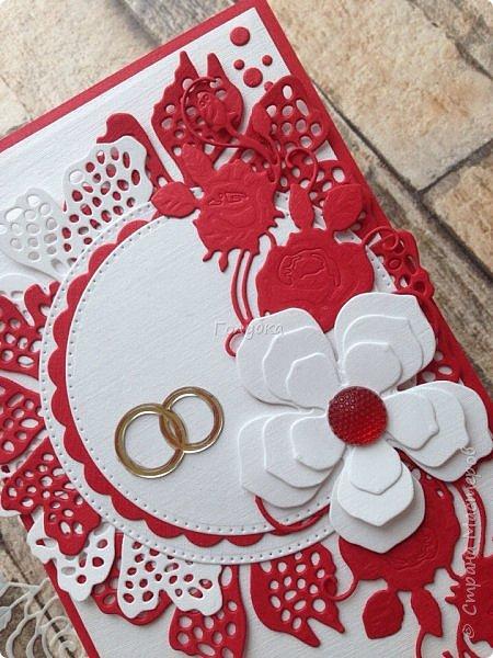 Красное и белое. Кардмейкинг. фото 6