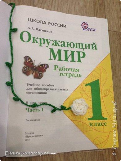 Когда дочь пошла в 1 класс =))) вот такие веселенькие у меня получились закладочки =) сильно мудрить не стала =)  фото 2