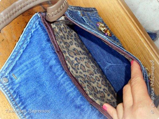 Абракадабра....и...старые джинсы превращаются в новый органайзер фото 11