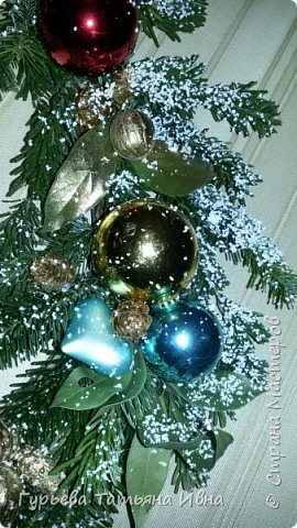 новогодний веночек фото 3