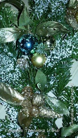 новогодний веночек фото 4