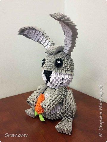 Заяц с моковкой фото 2
