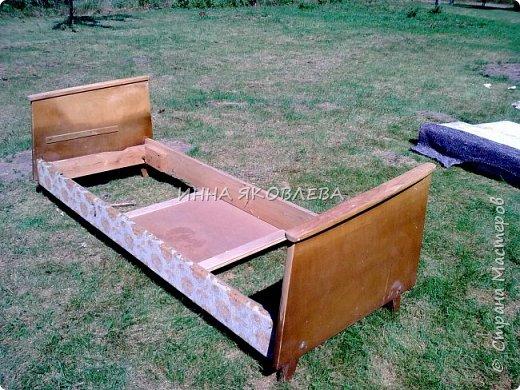 """Ну вот и старый диван """"попал под реставрацию""""! """"Диван — комфортабельное мебельное изделие для сидения нескольких человек""""  фото 4"""