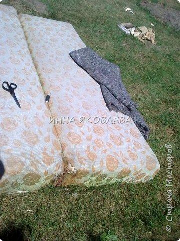 """Ну вот и старый диван """"попал под реставрацию""""! """"Диван — комфортабельное мебельное изделие для сидения нескольких человек""""  фото 5"""