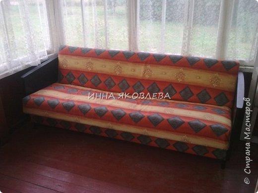 """Ну вот и старый диван """"попал под реставрацию""""! """"Диван — комфортабельное мебельное изделие для сидения нескольких человек""""  фото 1"""