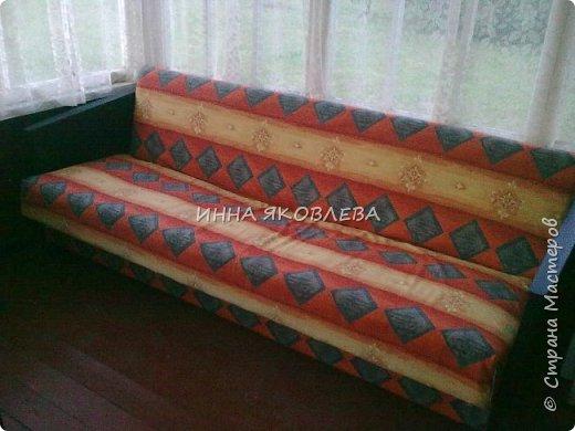 """Ну вот и старый диван """"попал под реставрацию""""! """"Диван — комфортабельное мебельное изделие для сидения нескольких человек""""  фото 9"""