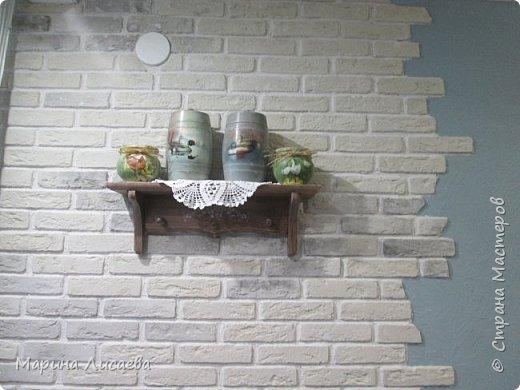 Здравствуйте, мои дорогие жители СМ! Продолжаю декорировать предметы для своей кухни. Вот закончила делать крыночки.  фото 15