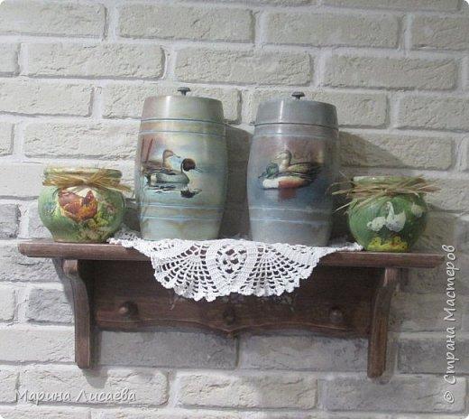 Здравствуйте, мои дорогие жители СМ! Продолжаю декорировать предметы для своей кухни. Вот закончила делать крыночки.  фото 14