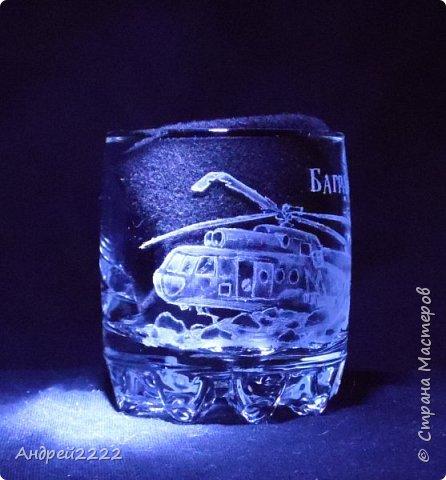 В память о службе, для воина интернационалиста, были сделаны эти стаканы. фото 6
